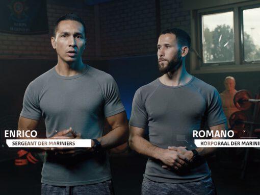 Marine Workout | Sport instructievideo's voor het Korps Mariniers